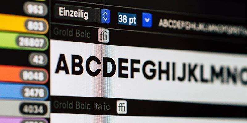 WEBRAND gratis inspiratie - Het juiste lettertype kiezen voor elk ontwerp - gratis of kopen